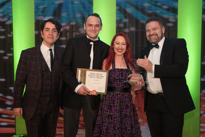 GreenFleet Awards 2019 Public Sector Fleet of the Year (small to medium): Changeworks