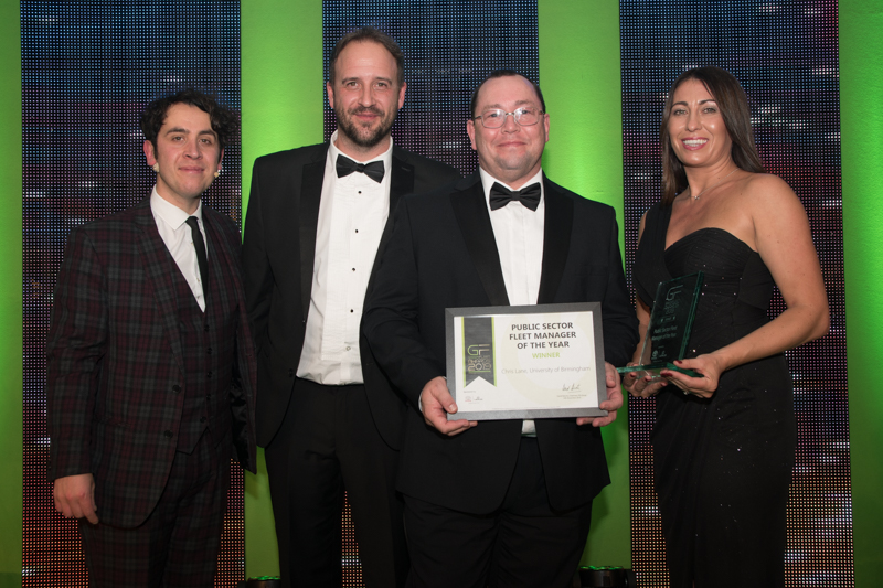 GreenFleet Awards 2019 Public Sector Fleet Manager of the Year: Chirs Lane, University of Birmingham