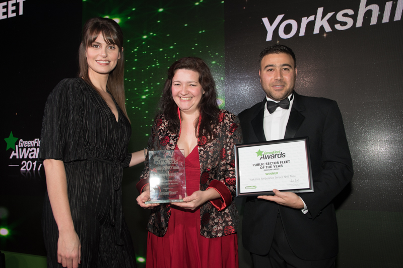 Public Sector Fleet of the Year (Medium to Large) 2017 Winner: Yorkshire Ambulance Service NHS Trust