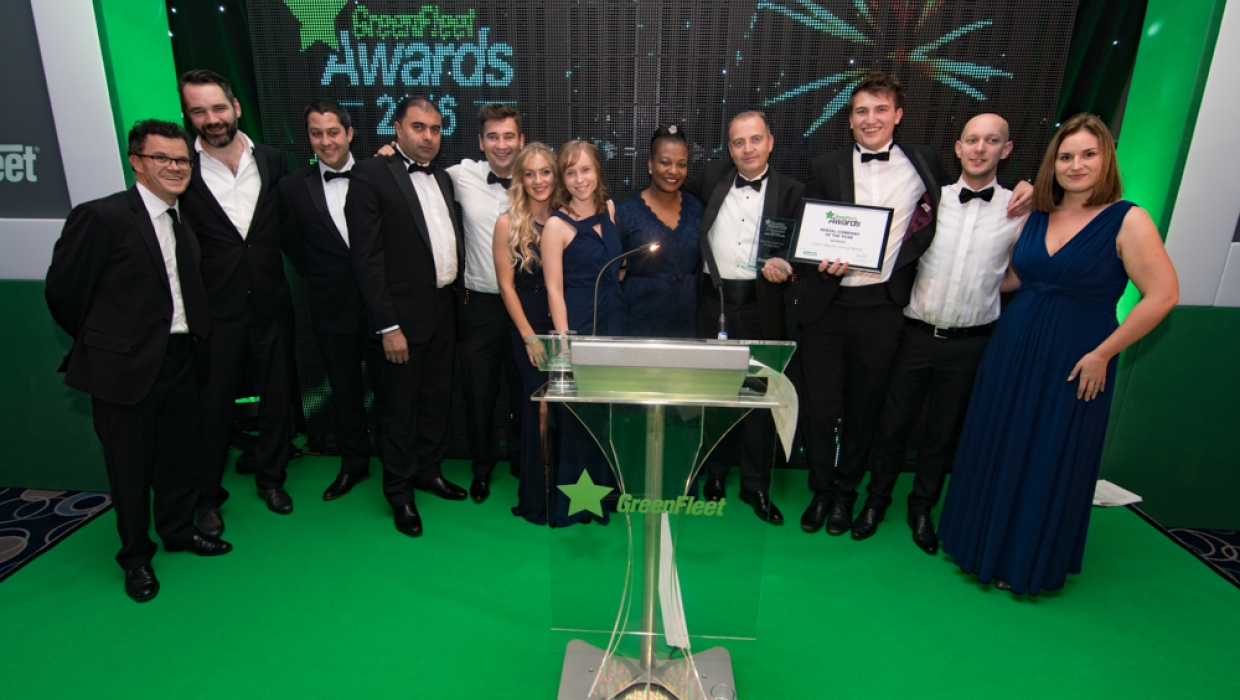 GreenFleet Rental Compsny of the Year 2016: Green Motion