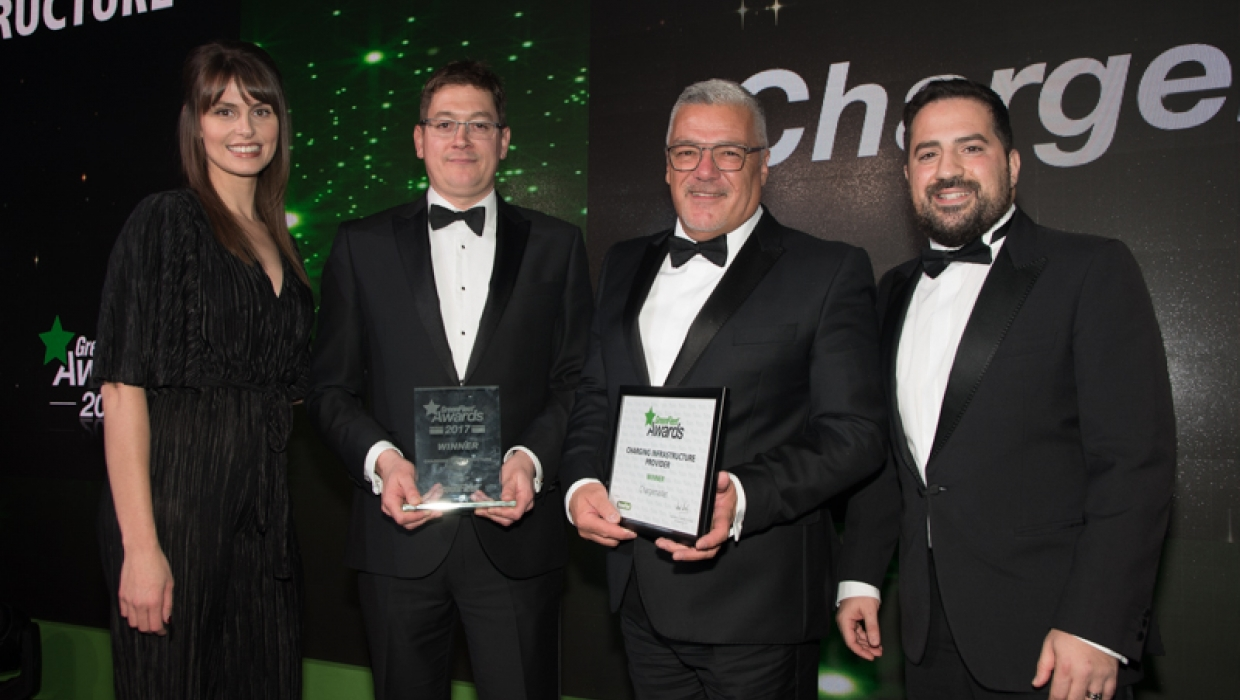 2017 Charging Infrastructure Provider: Chargemaster plc