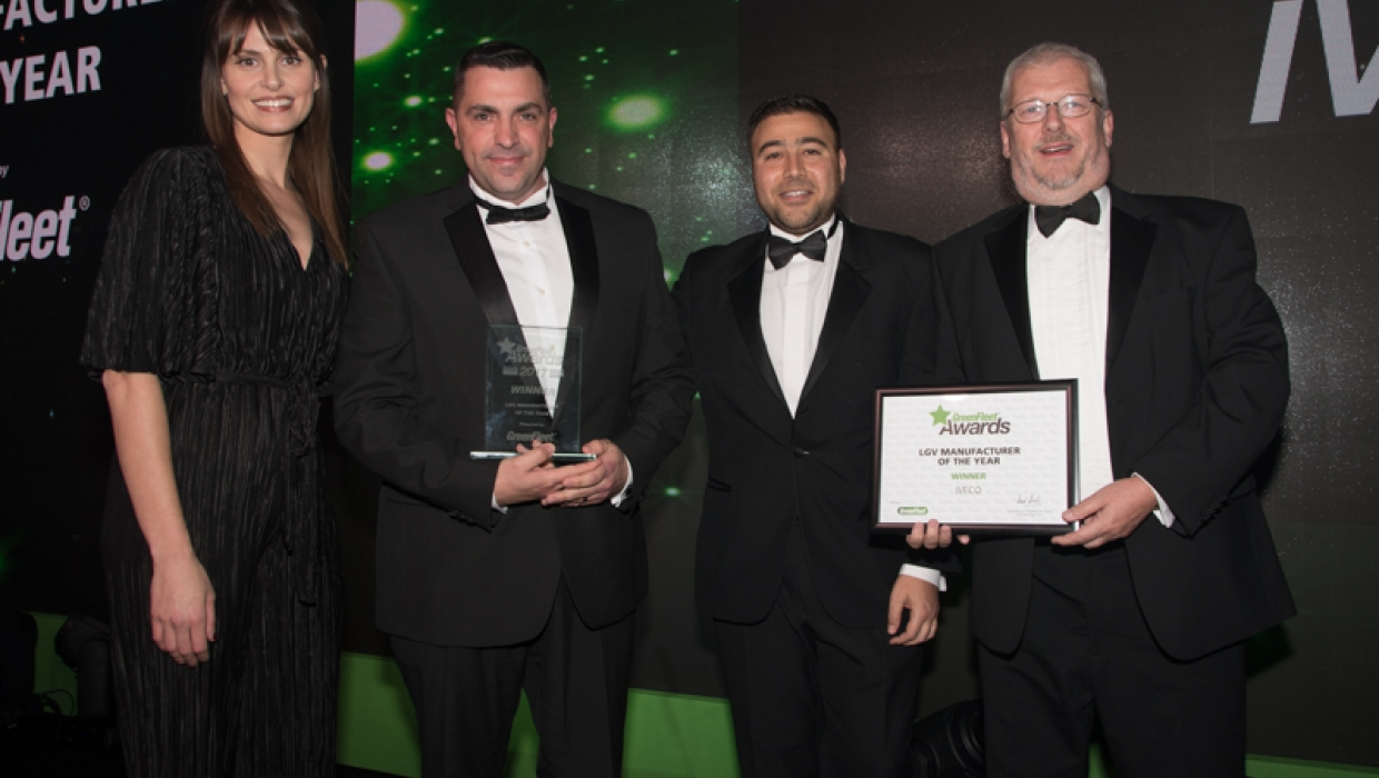 GreenFleet Awards LGV Manufacturer of the Year 2017 - IVECO