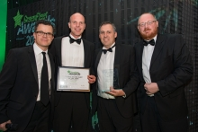 GreenFleet Awards 2016 - Private Sector Fleet of the Year (small to medium): Jersey Post